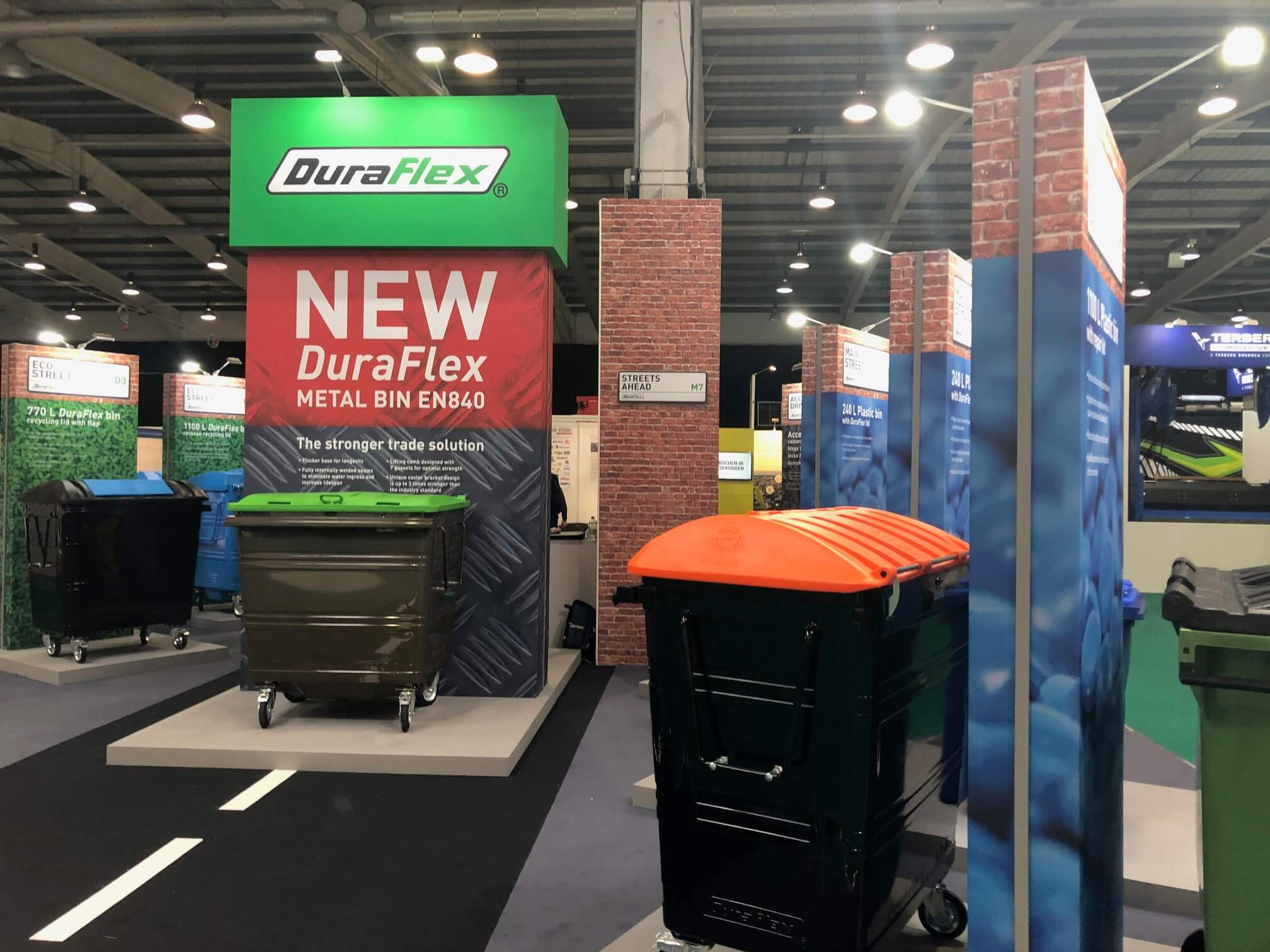 Let's Recycle Live - DuraFlex Stand