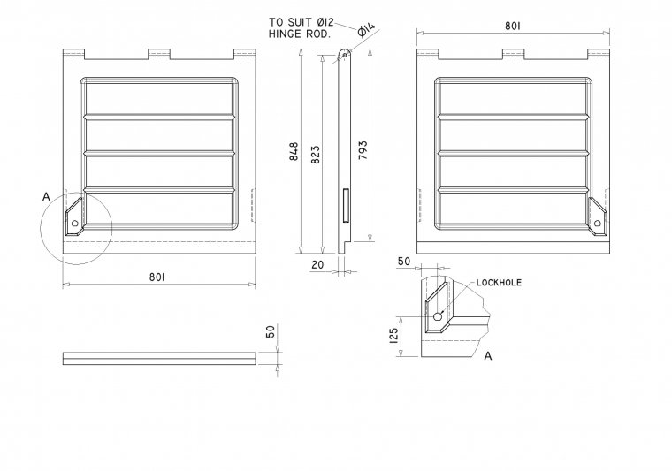 DR3232 Overlapping Doors Doors drawing