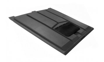 AR3757DMF Recycling lid with rubber flap Front End Loader Lids & Doors photo