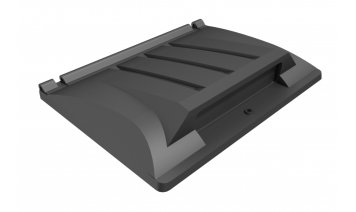 ME4937RM-FLA 1100 Litre Recycling lid with rubber flap