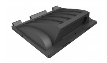 MG1100RM-FLA Recycling lid with rubber flap