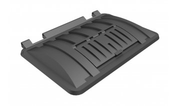 MS1700RM-FLA Recycling lid with plastic flap